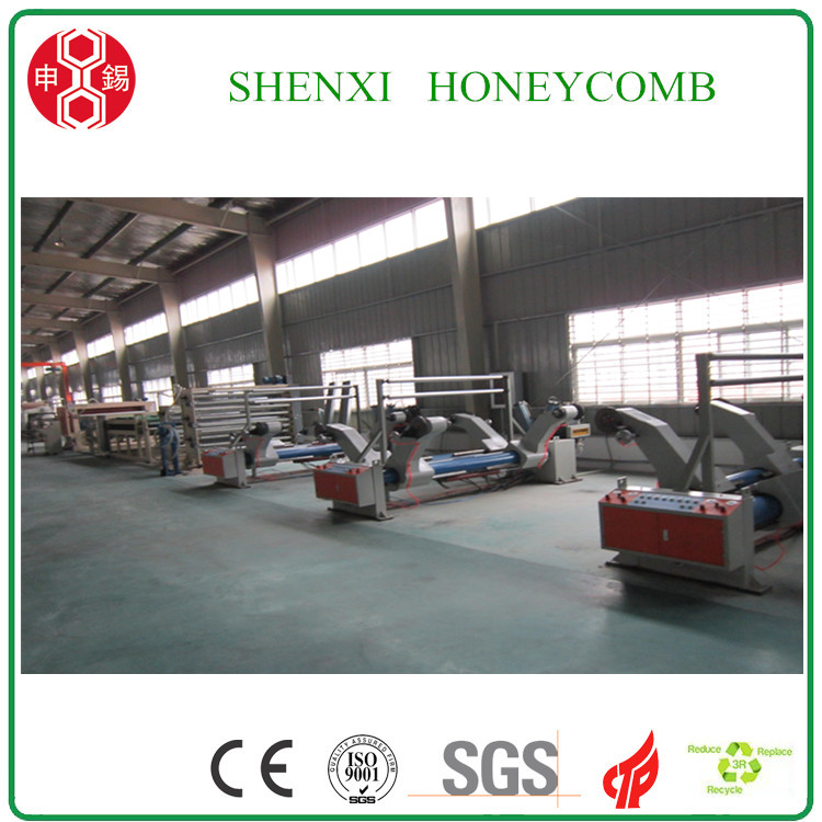 Economic Full Automatic Honeycomb Paper Core Making Machine with CE